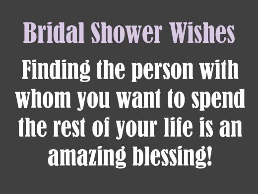 congratulatory bridal shower message