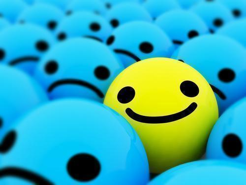 Don't be a frowner - get happy!