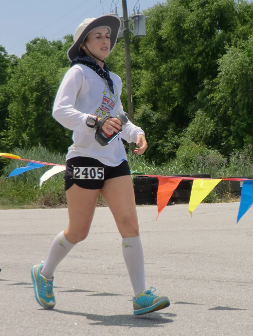 Lara Zoeller ran over 130 miles in 24 hours, a new record for women in her age group