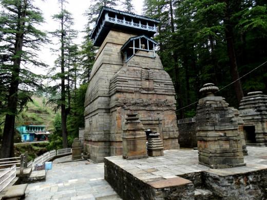 Dandeswar Temple complex