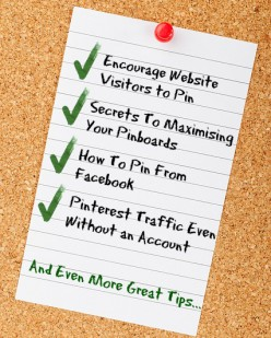 How To Maximise Your Pinterest Repins & Traffic - On and Offsite