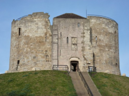 Arguably the most recognisable medieval building in England, Clifford's Tower served as the keep of York Castle.