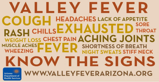 Valley fever causes a wide array of symptoms. On rare occasions, the disease can be deadly.