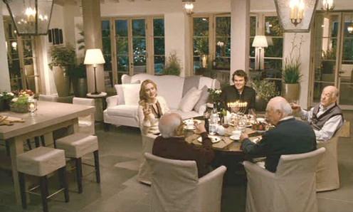 Dinner at Amanda's house