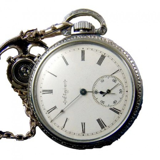Image 2 of Antique Elgin Pocket Watches
