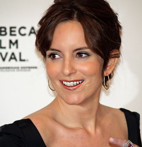 Fey at the premiere of Baby Mama in 2008