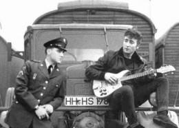 Two rock idols