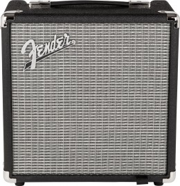 The Fender Rumble 15 v3 is an impressive bass practice amp.