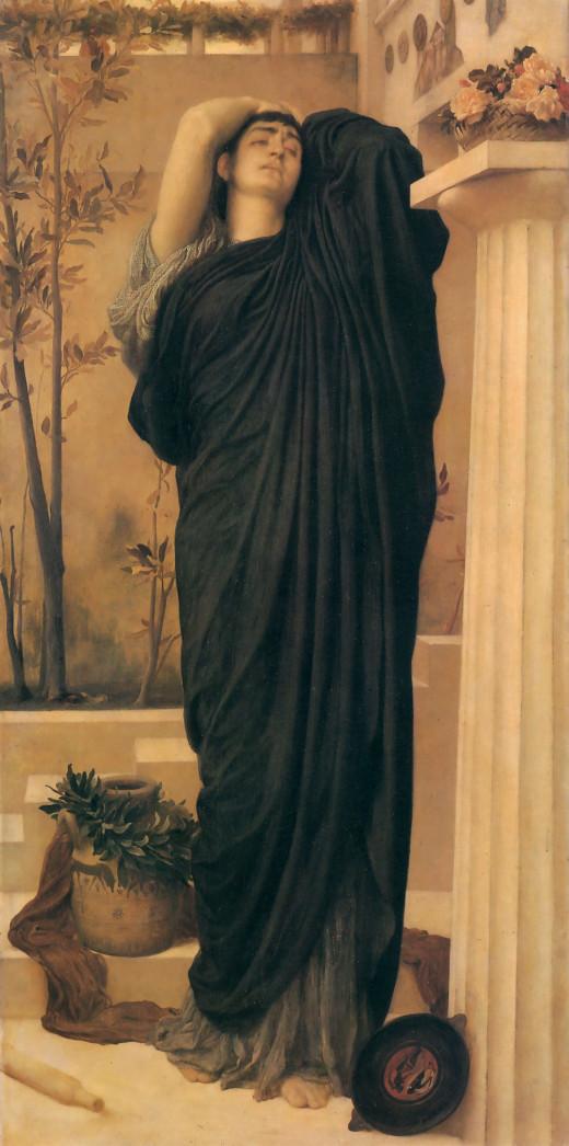 Frederic Leighton [Public domain], via Wikimedia Commons