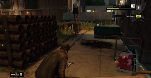Aiden prowls through the dangerous neighbourhoods of the Wards in Watch_Dogs, trying his best to remain innocuous.