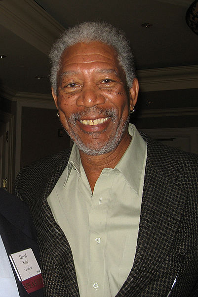 Morgan Freeman, Academy Award-winning American actor and film director at the Forbes MEET Conference in LA. born June 1, 1937)