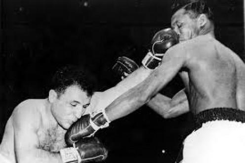 Robinson fought Jake LaMotta six times and he won five of those Bouts.