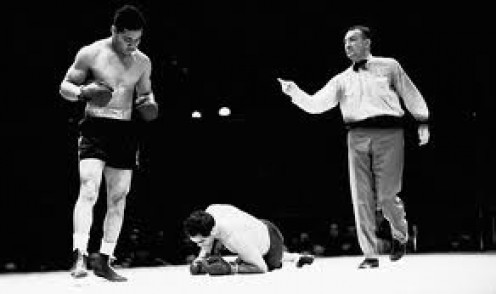 Joe Louis knocked out Max Schmeling in defense of the heavyweight title and he gained revenge in the process.