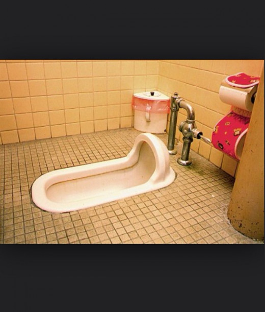 """""""Squatter"""" an African Toilet"""