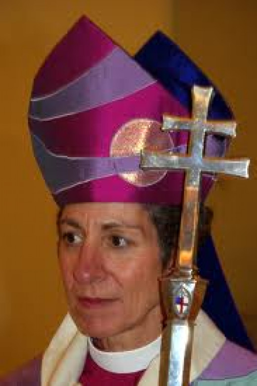 Bishop Katharine Jefferts Schori Elected In 2006 As First Presiding Female Bishop In The Episcopal Church