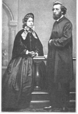 Rev and Mrs William Booth