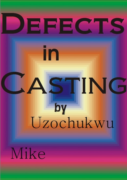 The defects in casting. The weaknesses of metallurgical casting.
