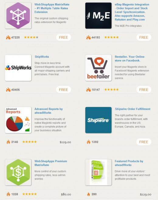 Magento Go Apps