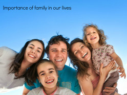 Importance of Family in our lives