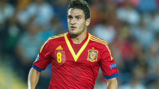 Koke (Atletico Madrid) - Caught the eye with some fine performances