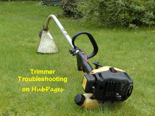String Trimmer Won T Work 2 Stroke Engine And Carburetor