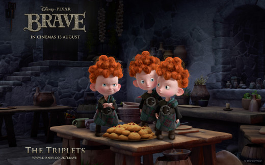 Harris, Hubert and Hamish - redheaded, mischievous and utterly adorable