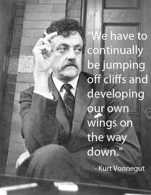 Kurt Vonnegut, Jr., known commonly as just Kurt Vonnegut