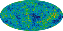 COSMIC MICROWAVE BACKGROUND RADIATION - AGE 380,000 YEARS