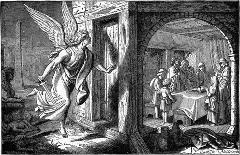 Angel of Death passes over Israelite family