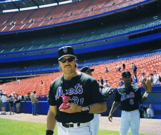 Mike Piazza had a little something for everyone.