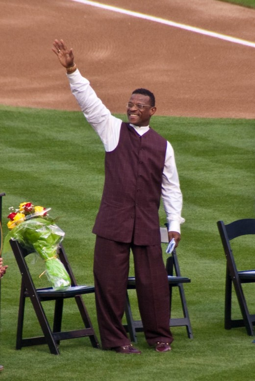 Nobody goes better with mustard than Rickey Henderson.