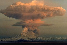 Eruption of Mount Redoubt, Alaska