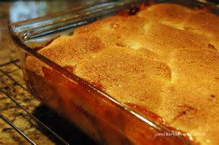 Bear N Mom Recipes  - Peach Cobbler