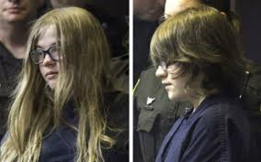 12 year old Girls involved in Slender Man Stabbing of friend