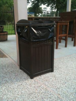 The Best Outdoor Trash Can With Locking Lid