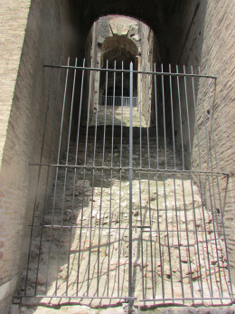 Ancient entrance to the Colesseum