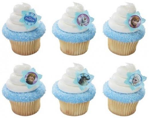 Disney's Frozen Cupcake Rings