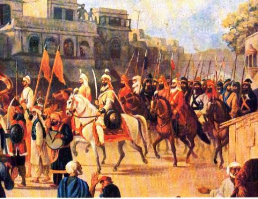 Hari Singh during the invasion of Kasur