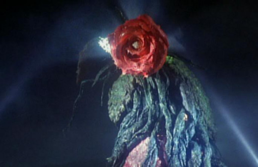 Biollante in her rose form.