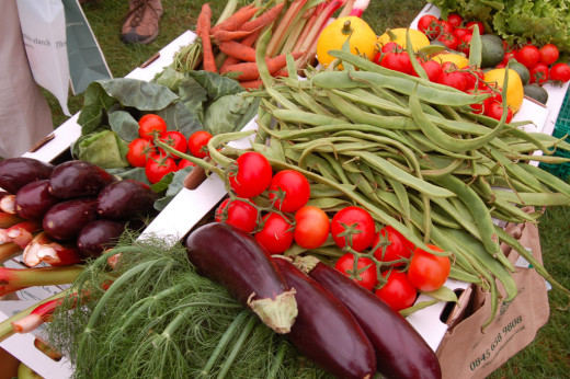 Stock up on fresh produce at one of Traverse City's awesome summer farmer's markets.