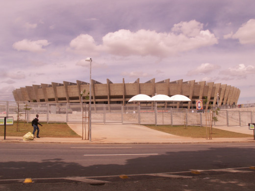 Mineirao, World Cup Soccer Stadium in Brasil