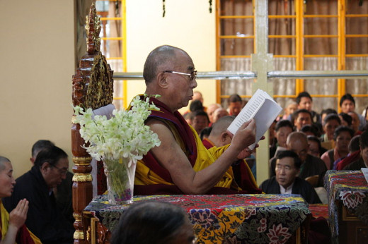 Dalai Lama Prays For World Peace, Dharamshala