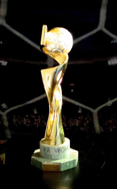 The FIFA Women's World Cup Trophy has been awarded since 1999
