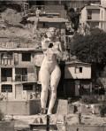 Giant Naked Woman 'La Mona', is in the Middle of a Tijuana, Mexico Neighborhood