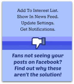 Do Facebook Pages Show In Feed, Interest Lists, Notifications, Updates, Interactions Get More Views?