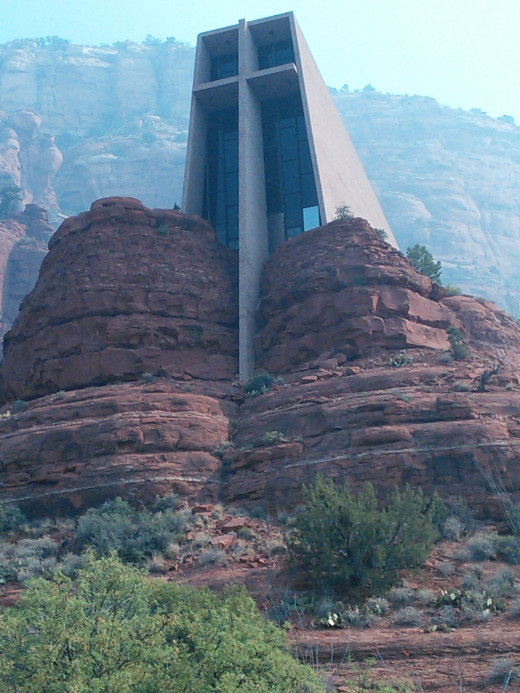 Chapel of the Holy Cross in nearby Sedona, Arizona