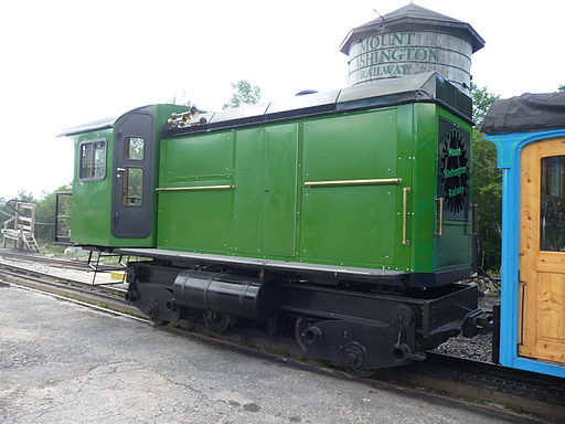 Mt Washington has a cog railway that brings tourists to the top of the mountain.