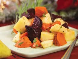 Served up with sea salt and a sprinkle of rosemary, root vegetables are full of anti oxidants, vitamins and fibre.