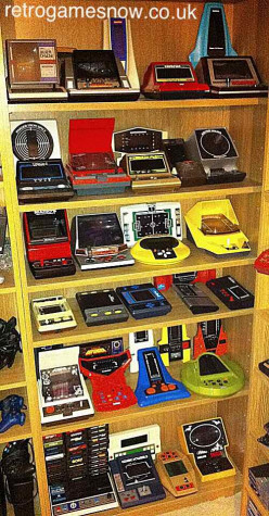 How common is it to collect old handheld video games from the 80's?
