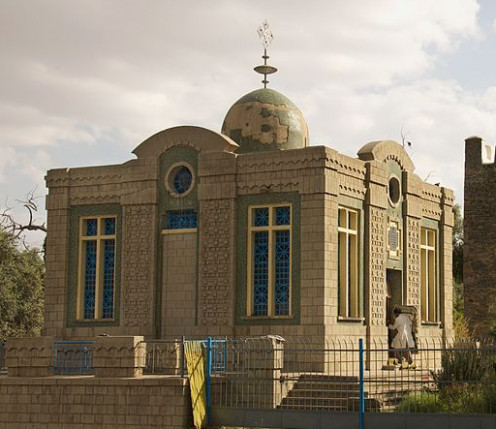 Chapel of the Tablet in Ethiopia where the Ark of the Covenant is believed to be kept